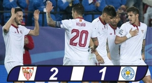 Champions League: Sevilla 2-1 Leicester